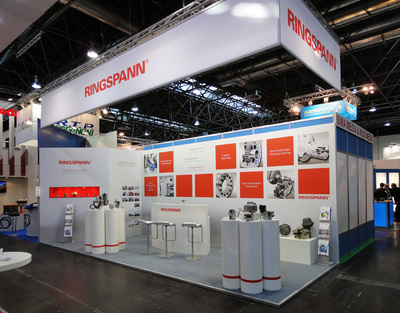 Front view | Hall 11, booth C15